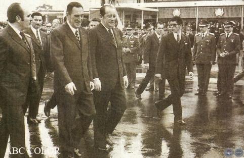 alfredo stroessner y Juan Domingo Peron 1974 portalguarani